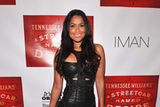 Tracey Edmonds Leather Dress