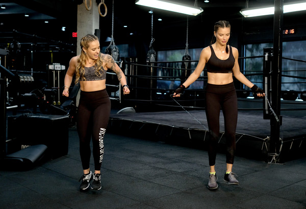 More Pics of Adriana Lima Leggings (1 of 57) - Leggings Lookbook - StyleBistro