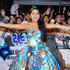 Dresses & Skirts Lookbook: Isabela Moner wearing Moschino Strapless Dress (9 of 25). Isabela Moner was aptly dressed in a Transformers-themed strapless fit-and-flare dress by Moschino at the China premiere of 'Transformers: The Last Knight.'