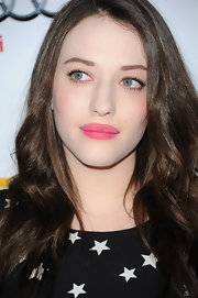 Kat Dennings wore a lovely matte candy pink lipstick at The Trevor Project's 2011 Trevor Live!.