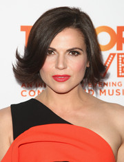Lana Parrilla looked adorable wearing this flippy bob at the 2016 TrevorLIVE LA.