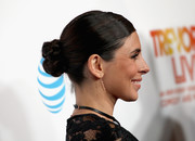 Jamie-Lynn Sigler pulled her hair back into a braided bun for the 2016 TrevorLIVE LA.