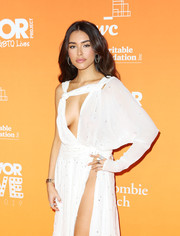 Madison Beer wore an eye-catching silver ring at TrevorLIVE LA 2019.