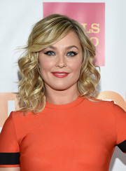 Elisabeth Rohm sported flirty spiral waves with side-swept bangs during the TrevorLIVE LA event.