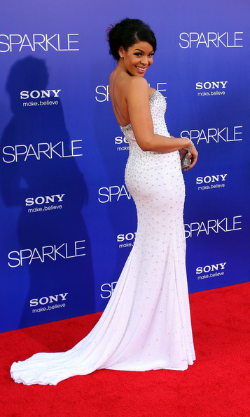 More Pics of Jordin Sparks Strapless Dress (1 of 9) - Jordin Sparks Lookbook - StyleBistro