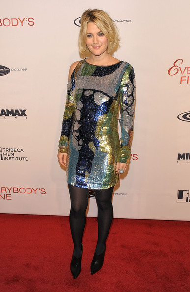More Pics of Drew Barrymore Mini Dress (1 of 30) - Drew Barrymore Lookbook - StyleBistro