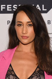 Maggie Q framed her face with a subtly wavy hairstyle for the Tribeca TV Festival premiere of 'Designated Survivor.'