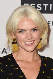 Erin Richards sported a center-parted platinum-blonde bob at the Tribeca TV Festival sneak peek of 'Gotham.'