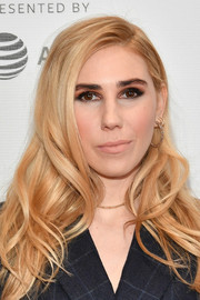 Zosia Mamet looked ultra glam with her long wavy 'do at the Tribeca TV: Indie Pilots.