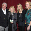 Joan Rivers and Rex Reed