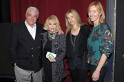 Joan Rivers and Rex Reed Photo