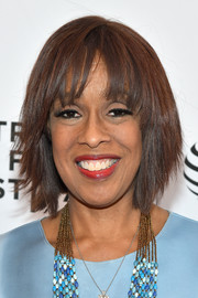 Gayle King looked cool with her graduated bob at the 2016 Tribeca Film Festival.