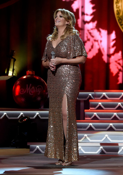 Trisha Yearwood Sequin Dress