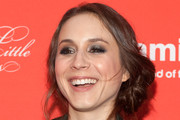 Troian Bellisario Smoky Eyes