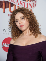 Bernadette Peters attended the Broadway opening of 'Tuck Everlasting' wearing her signature corkscrew curls.