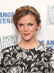 We're simply obsessed with Brooklyn Decker's braided updo!