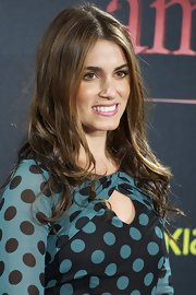 Nikki Reed looked ultra causal with her long locks minimally styled at the Madrid premiere of 'The Twilight Saga: Breaking Dawn - Part 1.'