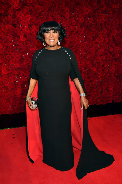 More Pics of Patti LaBelle Short Wavy Cut (1 of 4) - Short Hairstyles Lookbook - StyleBistro [clothing,carpet,red,dress,flooring,red carpet,shoulder,joint,outerwear,gown,patti labelle,atlanta,georgia,tyler perry studios,grand opening gala,grand opening gala]