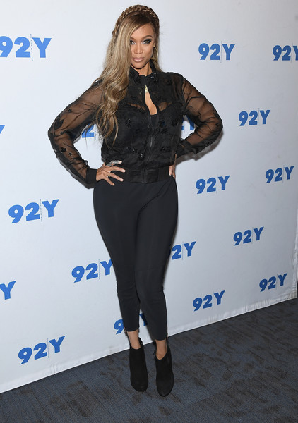 More Pics of Tyra Banks Long Partially Braided (10 of 16) - Tyra Banks Lookbook - StyleBistro