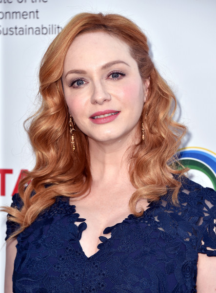 Christina Hendricks' Ladylike Waves