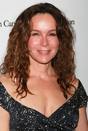 Jennifer Grey styled her hair in shaggy curls for the 2011 Taste for a Cure event.