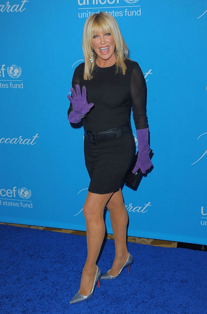 Suzanne Somers Best And Worst Dressed At 2009 Unicef
