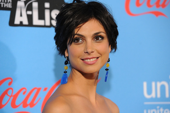 More Pics of Morena Baccarin Strapless Dress (1 of 21) - Morena Baccarin Lookbook - StyleBistro