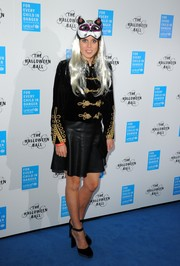 Princess Beatrice made an appearance at the UNICEF UK Halloween Ball wearing a black and gold military jacket.