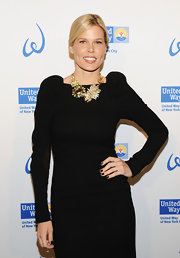 Mary Alice Stephenson matched her nail polish to her LBD at the United Way of New York City's Women's Leadership Council.