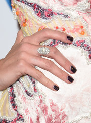 Kacey Musgraves' black nail polish added a touch of goth.