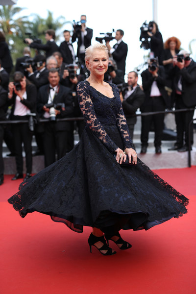 Helen Mirren at the 2016 Cannes Film Festival