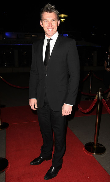 Brett Lee proved that sophistication is always in the details as he wore a classy pair of black loafers at the World Champions Charity Ball.