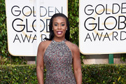Uzo Aduba Beaded Dress