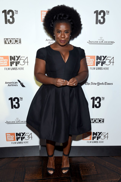 Uzo Aduba Little Black Dress