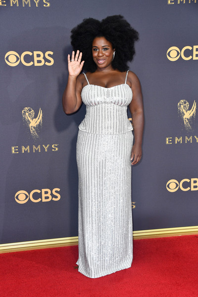Uzo Aduba Sequin Dress