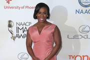 Uzo Aduba Fishtail Dress