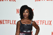 Uzo Aduba Print Dress