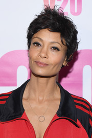Thandie Newton looked adorable wearing this messy pixie at the V20: The Red Party.
