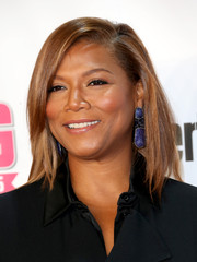 Queen Latifah attended the VH1 Big in 2015 Awards wearing a chic shoulder-length layered cut.