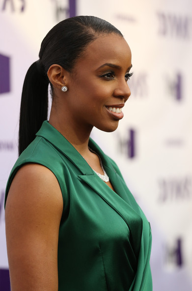 More Pics of Kelly Rowland Ponytail (3 of 21) - Kelly Rowland Lookbook - StyleBistro