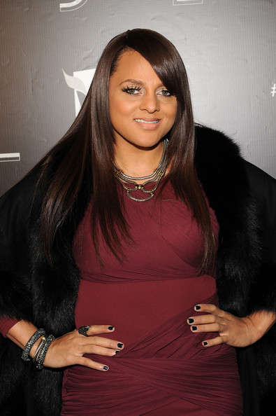 More Pics of Marsha Ambrosius Long Straight Cut (1 of 7) - Marsha Ambrosius Lookbook - StyleBistro