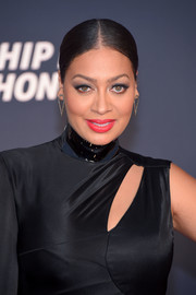 La La Anthony slicked her hair back into a center-parted bun for the VH1 Hip Hop Honors.