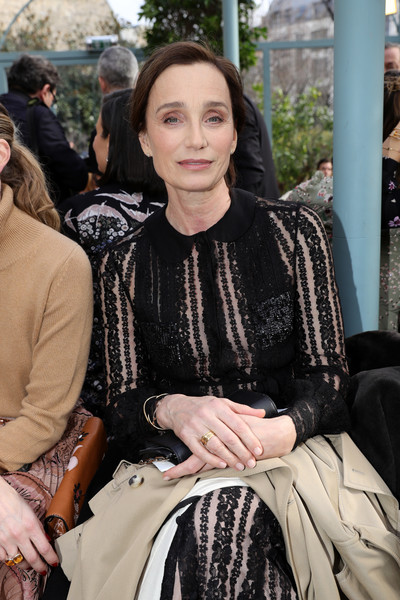 Kristin Scott Thomas at Valentino