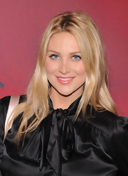 Stephanie Pratt wore her shiny tresses casually tousled at the Valentino Garavani Virtual Museum Launch Party.
