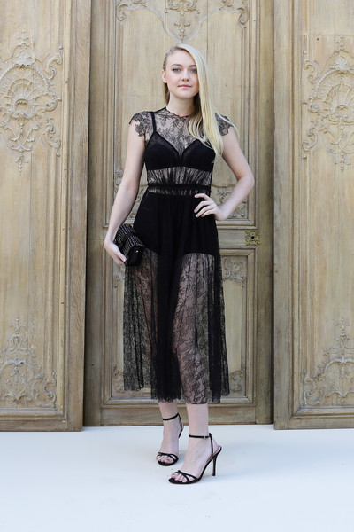 Dakota Fanning at Valentino