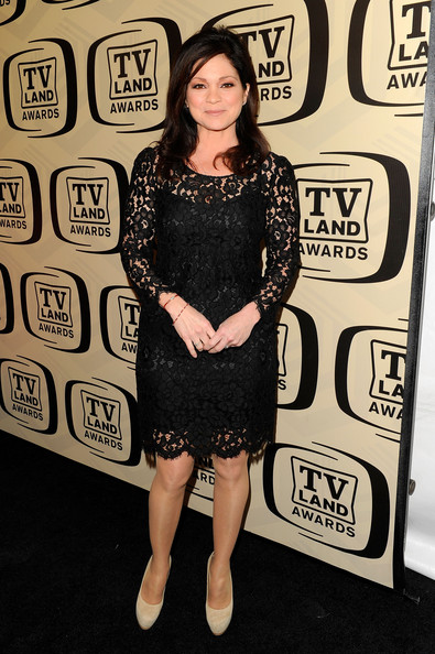 Valerie Bertinelli Little Black Dress