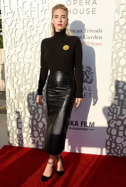 Vanessa Kirby Turtleneck [american friends of covent garden 50th anniversary celebration - arrivals,clothing,red carpet,carpet,fashion,dress,flooring,footwear,shoulder,premiere,fashion model,jean-georges beverly hills,california,vanessa kirby]