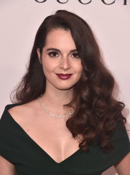 Vanessa Marano Long Curls [hair,face,hairstyle,eyebrow,long hair,lip,beauty,chin,brown hair,black hair,arrivals,vanessa marano,beverly hills,california,the beverly hilton hotel,equality now,annual make equality reality gala]