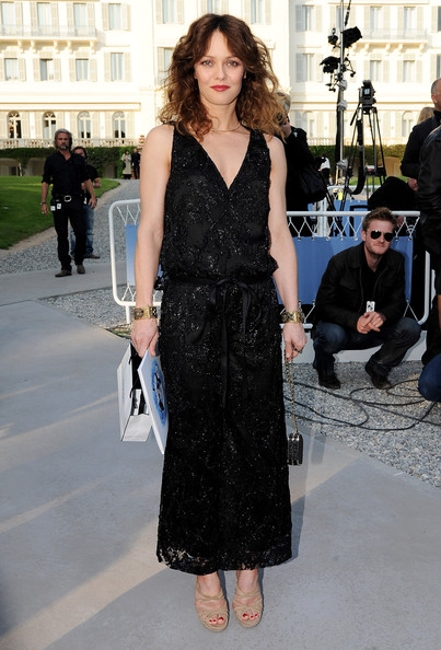 Vanessa Paradis Evening Dress