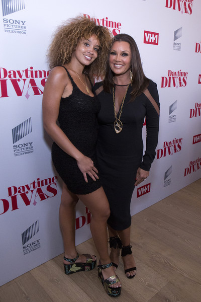 Vanessa Williams Little Black Dress [daytime divas,little black dress,fashion,dress,event,premiere,cocktail dress,jillian hervey of lion babe,vanessa williams,new york city,whitby hotel,vh1,premiere event,vh1 daytime divas premiere event]